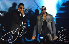 JAY Z & KANYE WEST AUTOGRAPH SIGNED PP PHOTO POSTER