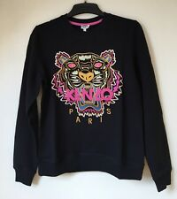 Authentic Kenzo Tiger Pink Embroidered Summer Cotton  Sweatshirt Jumper S