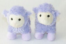 Best Made Toys Sheep Lavender Purple Lamb Plush Stuffed Easter Toy 2013 Lot 2 8""