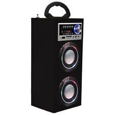 Majestic ts78 bt torre cassa audio bluetooth con radio fm con usb sd aux  Rosso