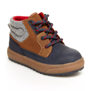 OshKosh B'gosh Brent Toddler Boys' Ankle Boots Brand New with Box