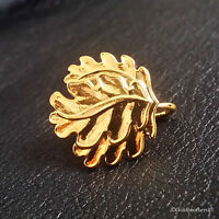 WW1 German Gold Plated Oak Leaf Special for Pour Le Merite
