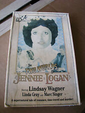 THE TWO WORLDS OF JENNIE LOGAN Rare 1978 TV movie BIG BOX VHS (Lindsay Wagner)