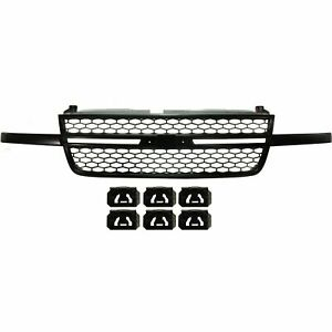 NEW Black Grille Assembly For 2003-2006 Chevrolet Silverado SS SHIPS TODAY