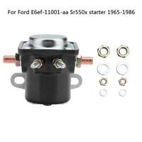 Metal Starter Solenoid Relay Switch 4-Terminal 12V Heavy Duty Car Truck For Ford