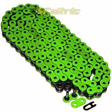 520 x 120 Links Motorcycle ATV GREEN O-Ring Drive Chain 520-Pitch 120-Links