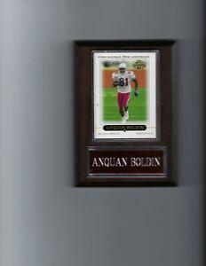 ANQUAN BOLDIN PLAQUE ARIZONA CARDINALS FOOTBALL NFL   C2
