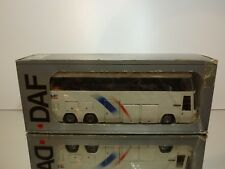 TEKNO HOLLAND DAF SBR 3000 BUS TOURING CAR - WHITE 1:50 - GOOD IN BOX