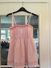 H & M Divided Women Light Pink Long Blouse Size 12 UK Very Beautiful