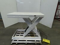 "Southworth LS2-36 1500Lb Hydraulic Scissor Lift Table 48x28"" Top 7-43""H 115V 1Ph"