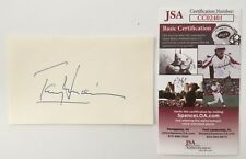 Anthony Perkins Signed Autographed 3x5 Card JSA Certified Psycho Tony