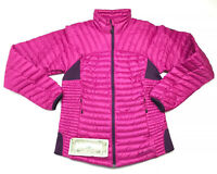 Eddie Bauer First Ascent Goose Down Purple/Pink Packable Jacket Women's Small