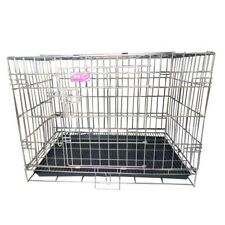 L Size Foldable Stainless Steel Cage 76W x 48D x 51.5H CM