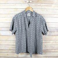 ANN TAYLOR LOFT Women's The Softened Shirt Short Sleeve Pop Over Top S Small