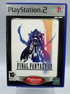 PS2 Final Fantasy XII RPG Platino Juego PLAYSTATION 2 Vintage Retrogaming