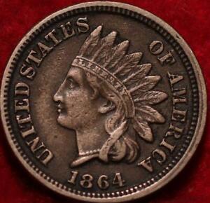 1864 Philadelphia Mint Indian Head Cent