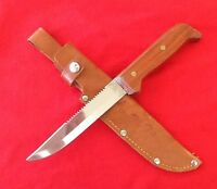 G.C. And Co.- Vintage - RARE - Swedish Fishing Knife And Custom Leather Sheath