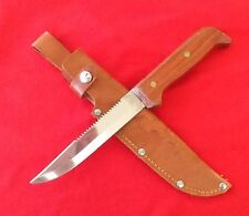 G.C. And Co.- Vintage - RARE - Swedish Fishing Knife And Custom Leather Sheath
