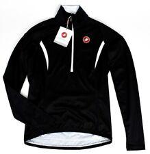 4286cb16d Castelli Cromo Long Sleeve Women s Jersey Black White Large