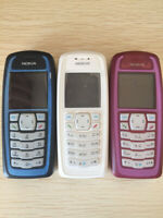 New Nokia 3100 SIM Unlocked Mobile Phones Cheap Basic Bar Cellophone