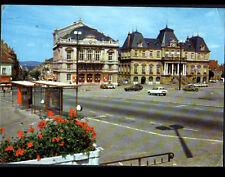 AUTUN (71) CITROEN AMI 8 au THEATRE & HOTEL DE VILLE en 1983