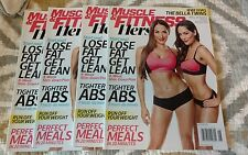 Muscle And Fitness Hers June 2015 Bella Twins Nikki and Brie NEW