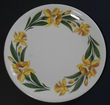 Shenandoah Ware Daffodil Dinner Plate Made in USA Paden City Pottery J-4 Glaze