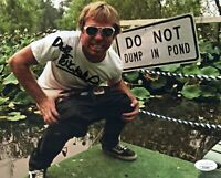 DAVE ENGLAND Signed JACKASS 8x10 Photo In Person Autograph JSA COA Cert