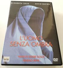 L'UOMO SENZA OMBRA (2000) FILM DVD K.BACON ITALIANO SPED GRATIS SU + ACQUISTI!!