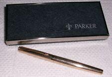 Parker 75 Imperial 14K Gold Filled Fountain Pen w/ Medium Gold Nib