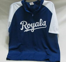 Kansas City Royals 1/4 zip jersey type shirt:giveaway fox: adult size XL ~ NWOP