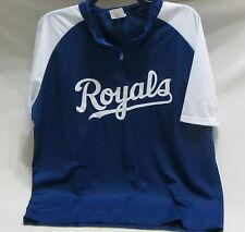 Kansas City Royals 1/4 zip jersey type shirt:giveaway fox: adult size XL ~ NWOP