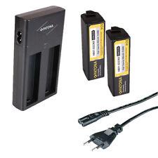 DJI Osmo cámara de acción ab1 p01 Patona dual LCD USB cargador F