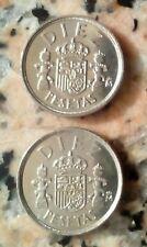 10 pesetas de Juan Carlos años 1983/85 sin circular. Se envían las de la imagen