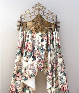 Gold Teester Bed Canopy or Windows and Door Hardware Aged Antique Style