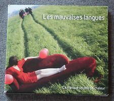 Les mauvaises Langues, ça manque un peu de chaleur, CD