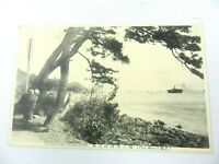 Vintage Postcard The Sea-Side of Danncura Japan Unposted
