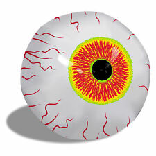 "Creepy Big 16"" Inflatable Eyeball Halloween Haunted House Prop Zombie Eye Attic"