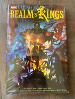 Realm Of Kings Marvel Sealed Hardcover HC TPB- AVENGERS THANOS INHUMANS - OOP