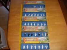 MARX presidents of the United States Series 1-5 in boxes complete 2 sets painted
