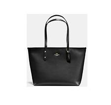 Coach Crossgrain Leather Zip Top City Tote Shoulder Bag F58846/F36875 Handbag