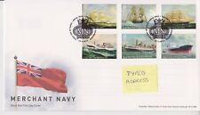 TALLENTS PMK GB ROYAL MAIL FDC FIRST DAY COVER  2013 MERCHANT NAVY STAMP SET