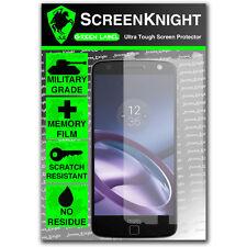 ScreenKnight Motorola Moto Z-Frontal Militar Escudo protector de pantalla