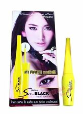 Mistine So Black Matte Liquid Eyeliner Matte Waterproof and Long Lasting 4.5g