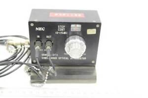 NEC LWL Dämpfungsglied / Attenuator, Glasfaser, 0-65dB, Typ DD8511-DFA