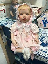 Hildegard Günzel Porzellan Puppe 53 cm. Top Zustand