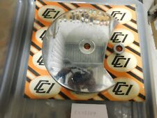 Custom Chrome Disc Rotor Cover for Harley Big Twin  15159