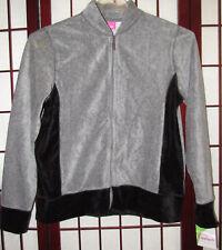 Cappagallo Women's 10 Zipper Long Sleeves Sweater Top Gray Heather