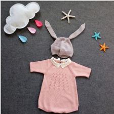 2017 Kids Fashion Fall Winter Knit Beanie Hat Baby Long Ear Rabbit Headgear Cap