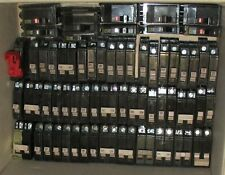Large Circuit Breaker Lot of Over 80 Cutter-Hammer (Ch120) & Square D (Qo 120)
